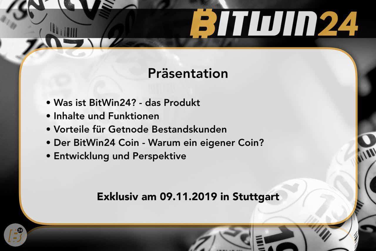 Bitwin24 – die Blockchain-Lotterie