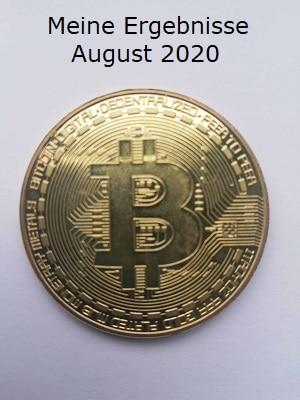 Meine Ergebnisse August 2020
